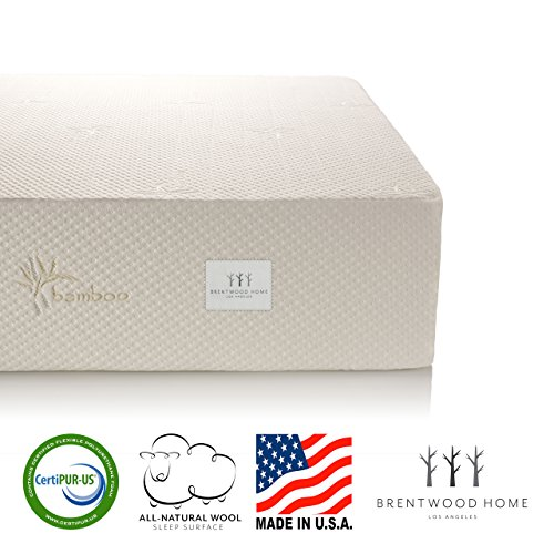"Brentwood 9"" Gel Infused HD Memory Foam"